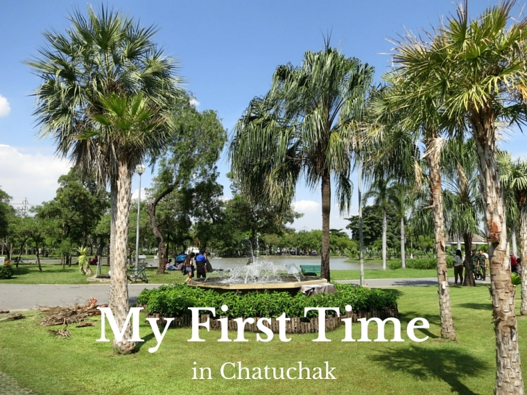 First time in Chatuchak, Bangkok, Thailand
