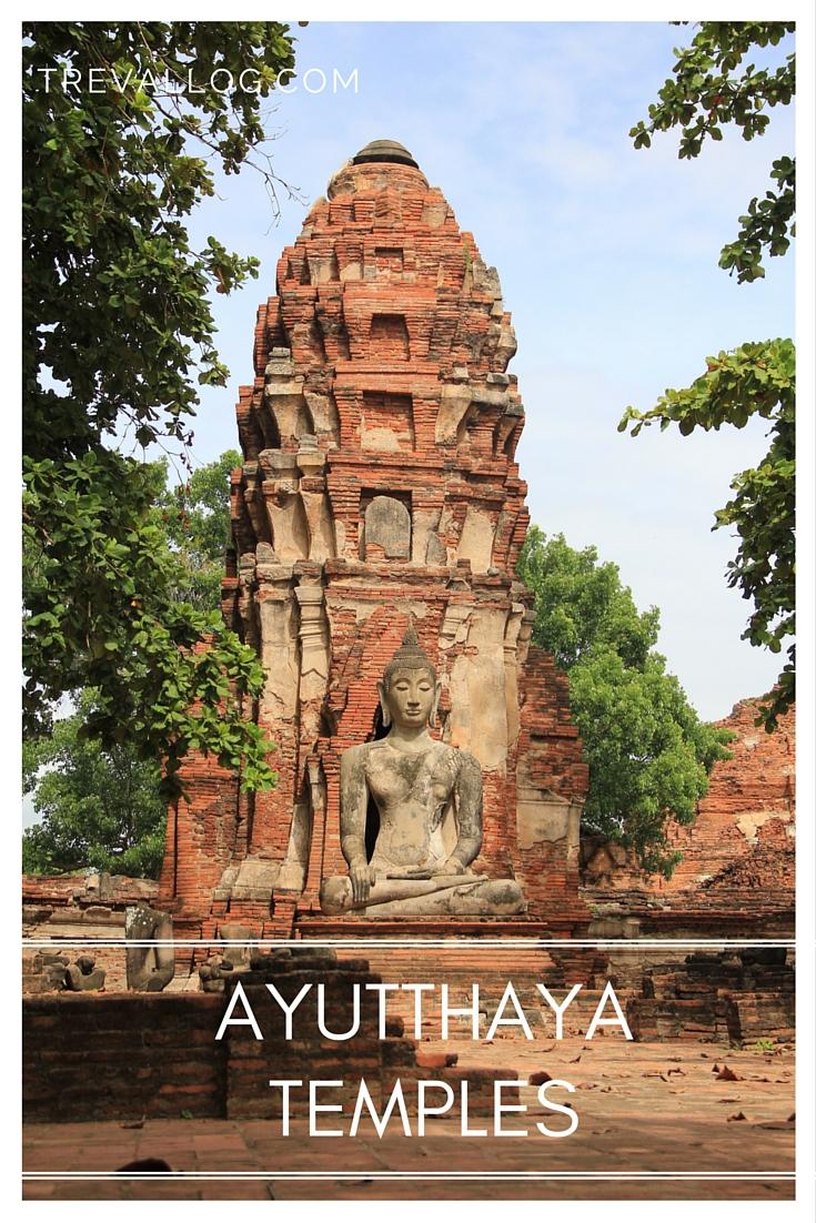Visiting Ayutthaya temples, Thailand