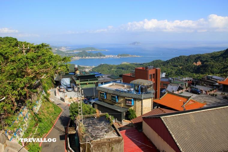 view from juifen lomenkezhan hotel