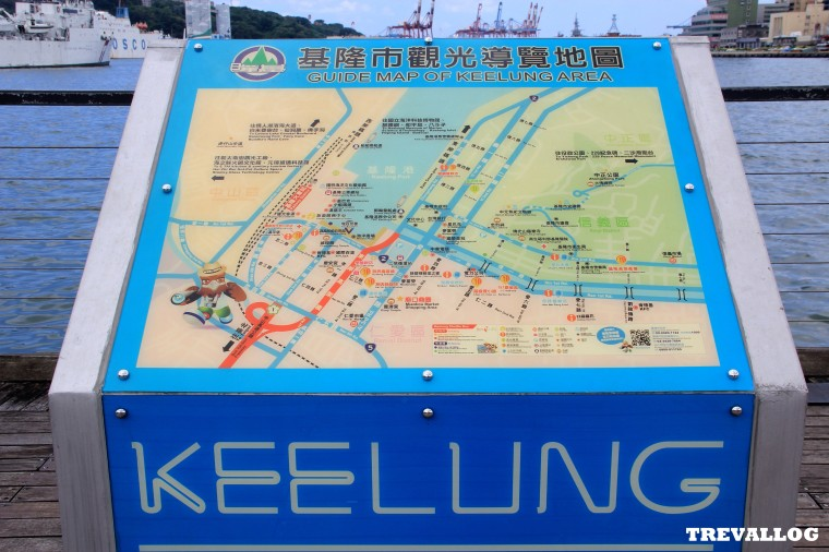 Map of Keelung Harbor