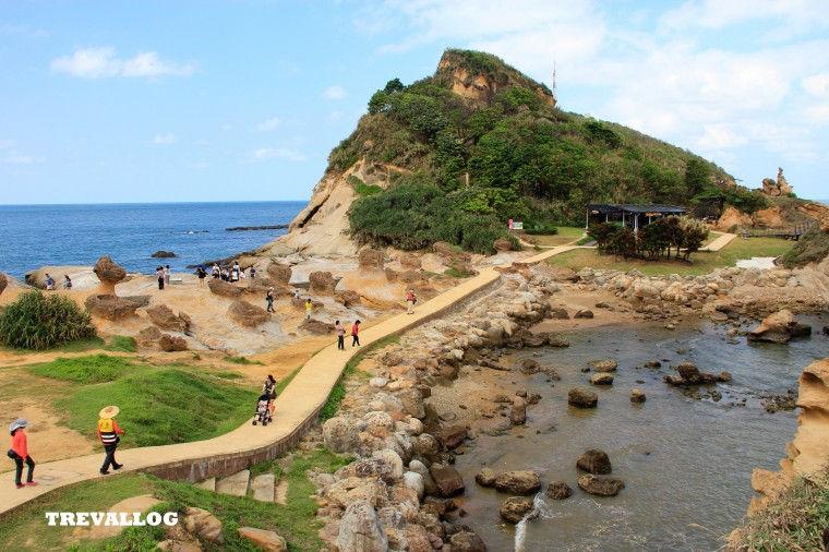 Yehliu Geopark, Taiwan