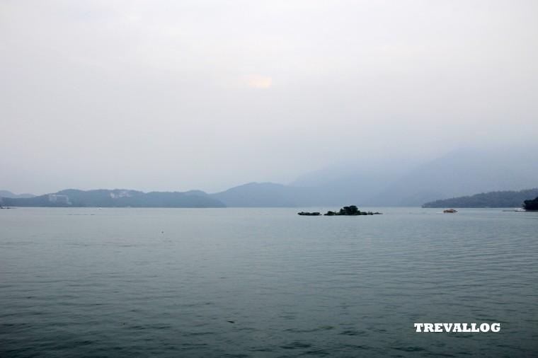 Dusk at Sun Moon Lake, Taiwan