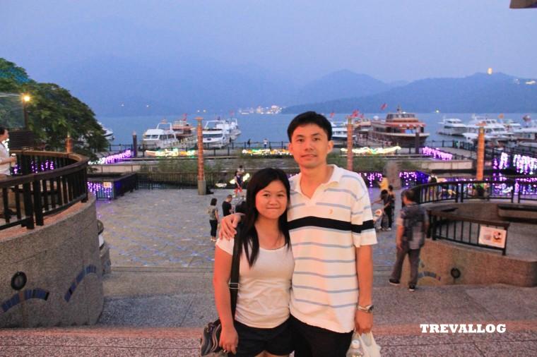 Ferry jetty at Shuishe, Sun Moon Lake, Taiwan