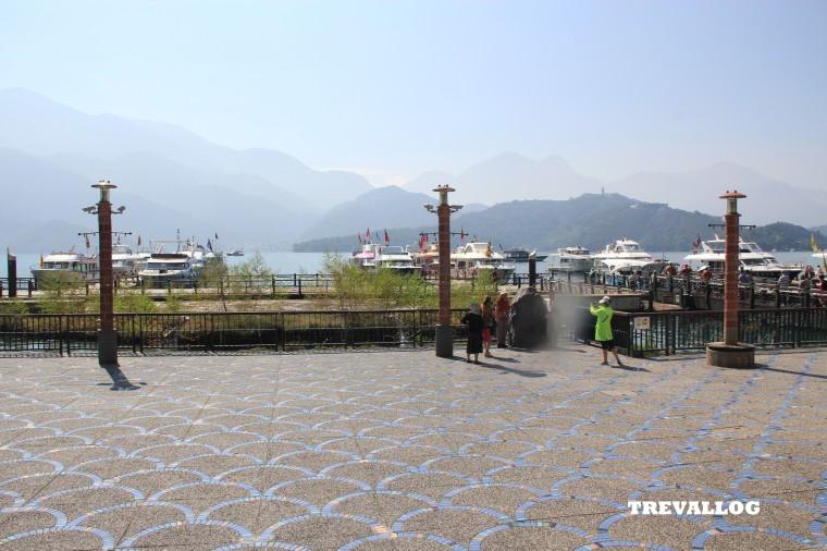 Ferry pier at Shuishe Village, Sun Moon Lake, Taiwan