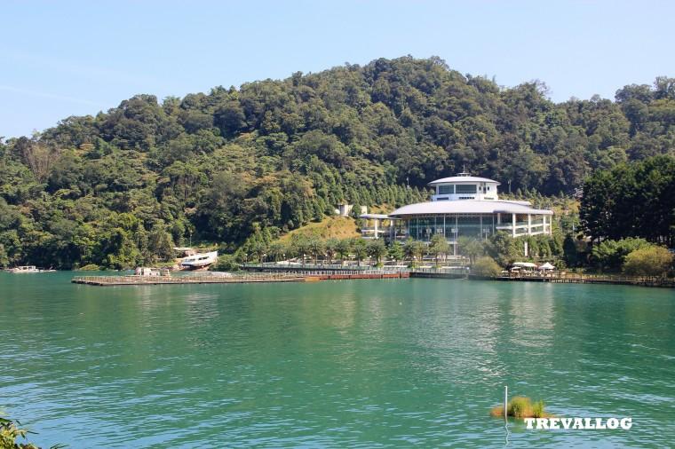 The ropeway station at Ita Thao, Sun Moon Lake, Taiwan