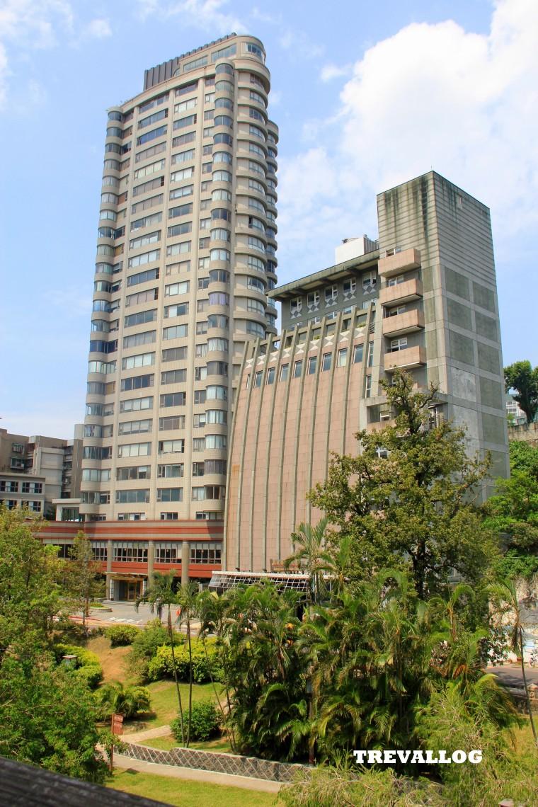 Beitou buildings, Taipei, Taiwan