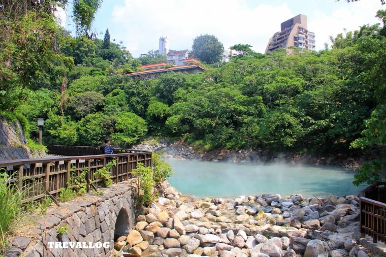 Steam of Thermal Valley, Beitou, Taipei, Taiwan