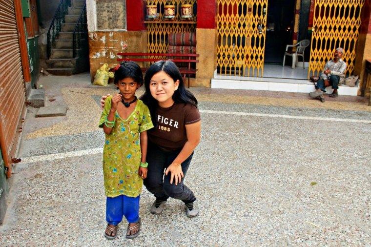 Buddhist Temple in Majnu ka Tilla, New Delhi, India