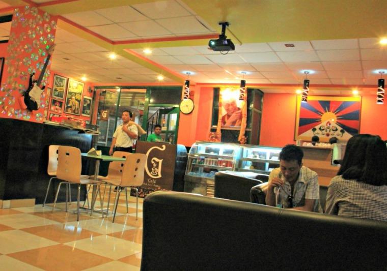 G Cafe in Majnu ka Tilla, New Delhi, India