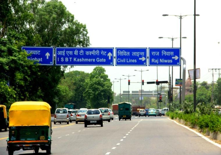 Roads in New Delhi
