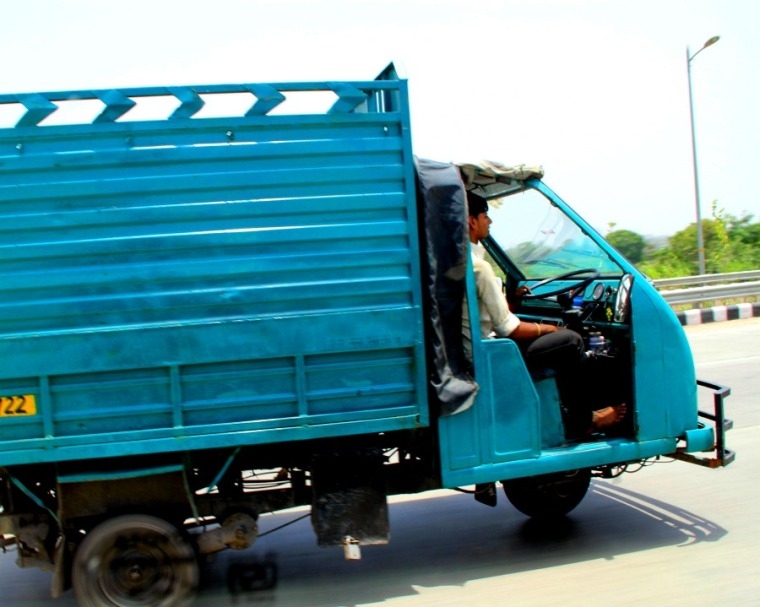 India car without door