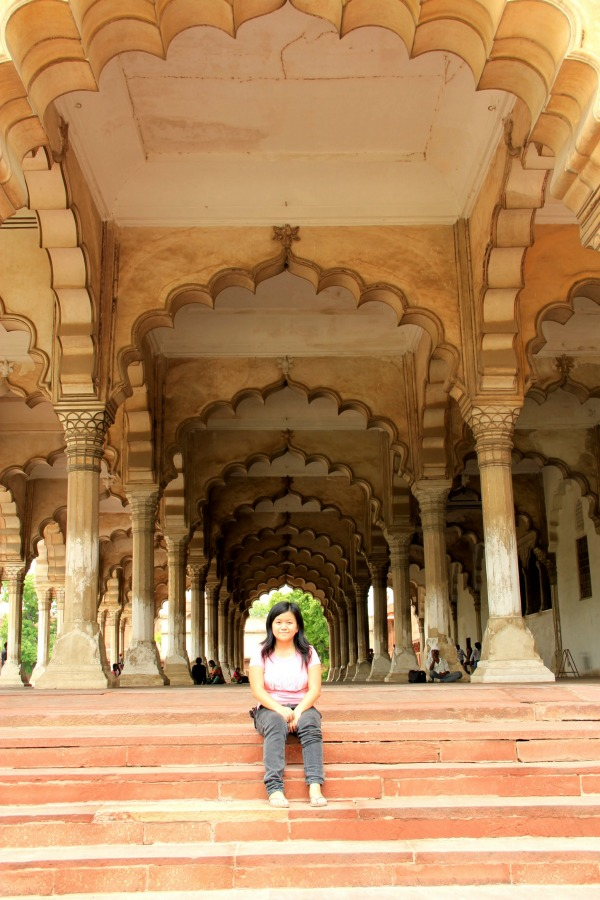 Diwan I Am (Hall of Public Audience), Agra Fort, Agra, India