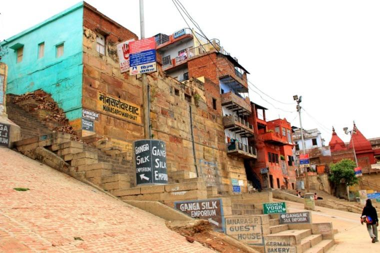 Mana Sarowar Ghat, Varanasi, India