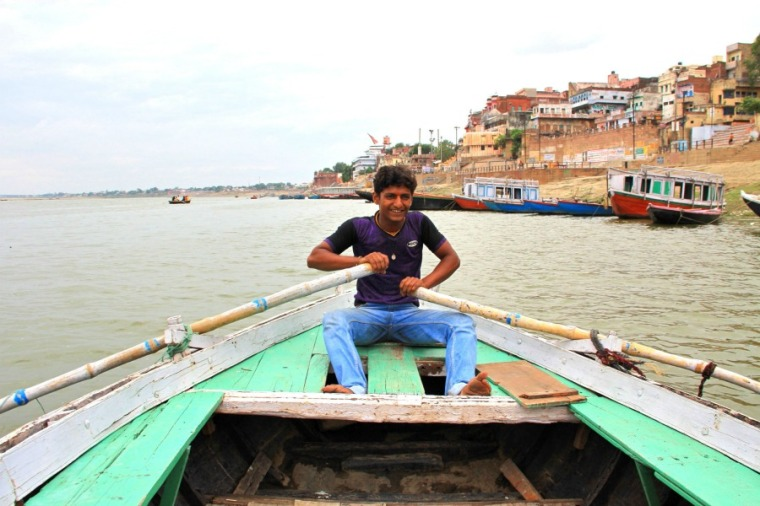 Boat tour, Varanasi, India