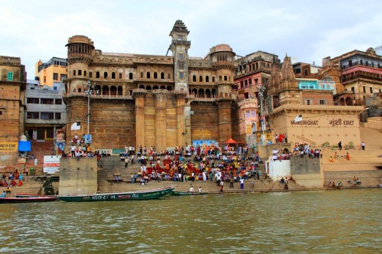Munshi Ghat, Varanasi, India