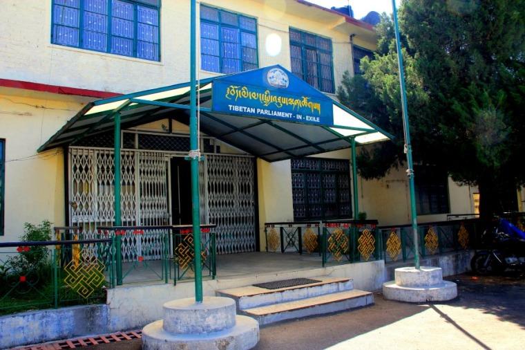 Tibetan Parliament In Exile at Dharamsala