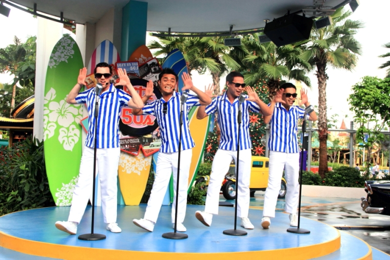 The Cruisers at Universal Studios Singapore