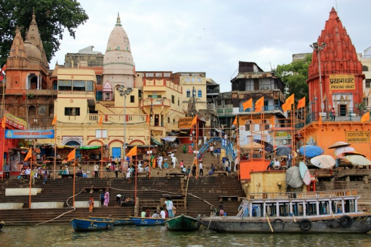 Prayag Ghat, Varanasi, India