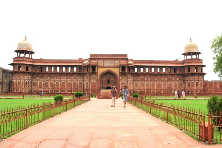 Inside of Agra Fort, Agra, India