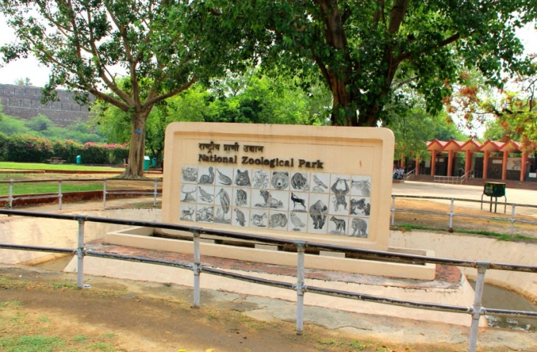 National Zoological Park at New Delhi, India