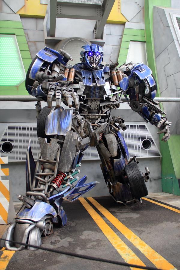Transformer at Universal Studios Singapore