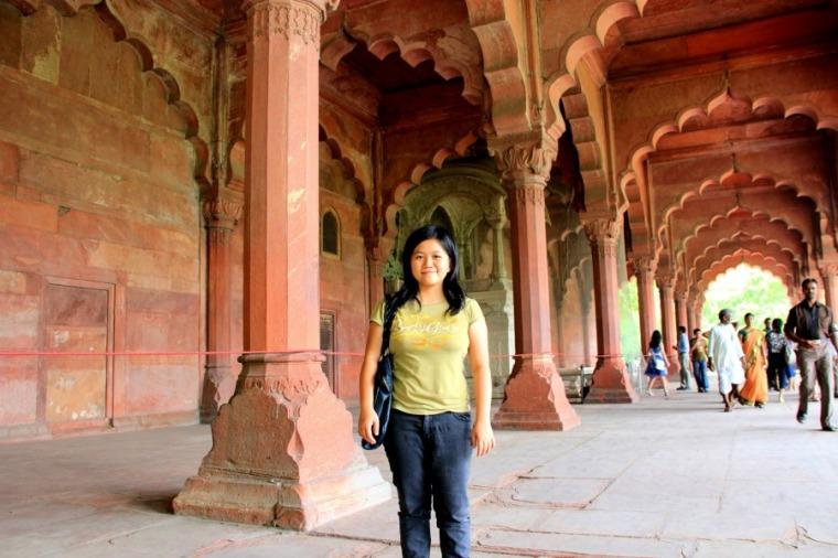 Inside Red Fort in New Delhi, India