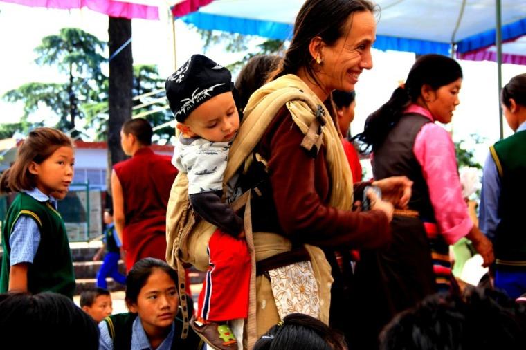 Dalai Lama Teaching at TCV - Tibetan Children's Village, Dharamsala