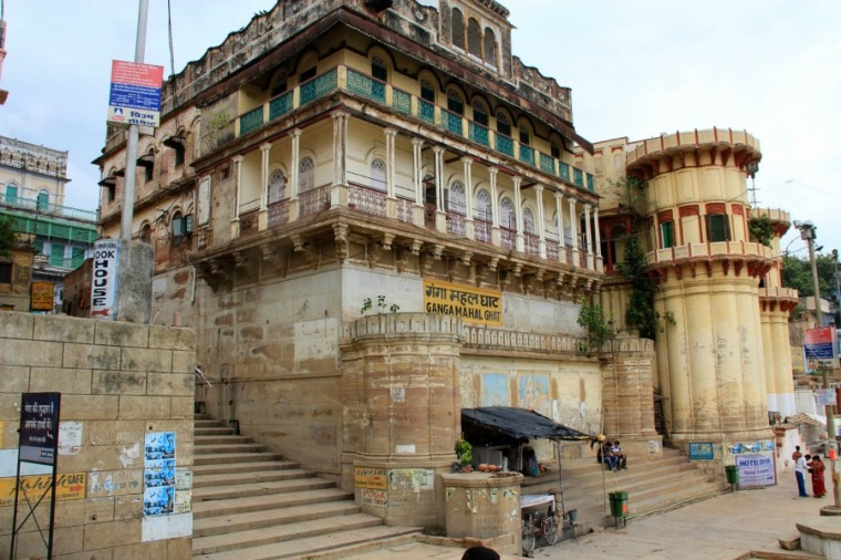Ganga Mahal Ghat, Varanasi, India