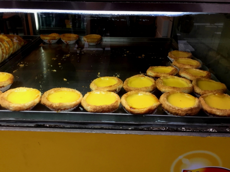 Egg tarts from Honolulu Cafe, Wan Chai, Hong Kong
