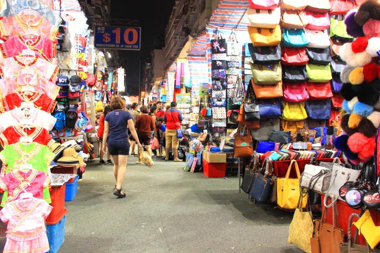 Ladies' Market, Mongkok, Hong Kong