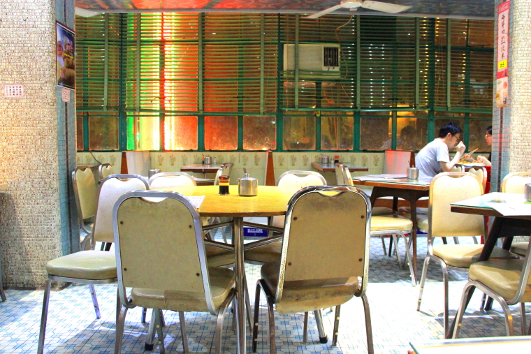 Mido Cafe interior, Temple Street, Yau Ma Tei, Mongkok, Hong Kong