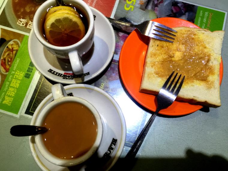 Mido Cafe food, Temple Street, Yau Ma Tei, Mongkok, Hong Kong