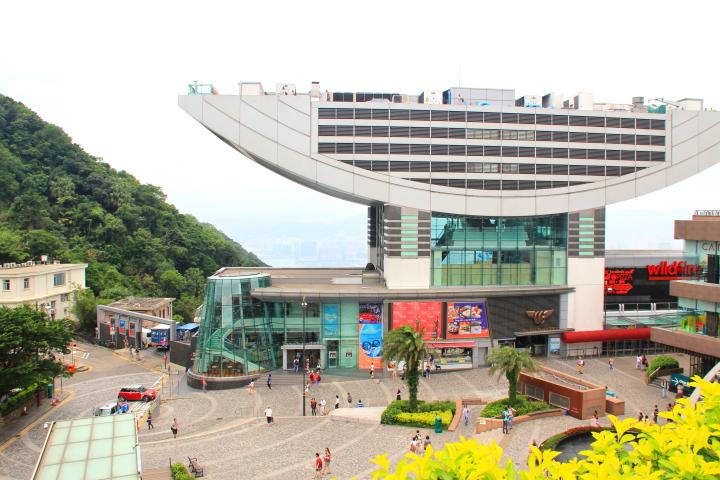 Rooftop at The Peak Galleria, Hong Kong