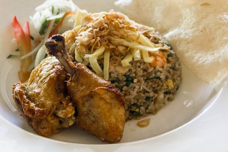 Nasi Goreng (fried rice) at Gourmand Deli, St Regis Resort, Nusa Dua, Bali