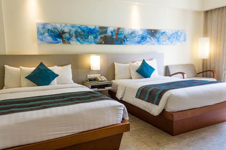 Deluxe Twin Room at Courtyard Marriott Nusa Dua Bali