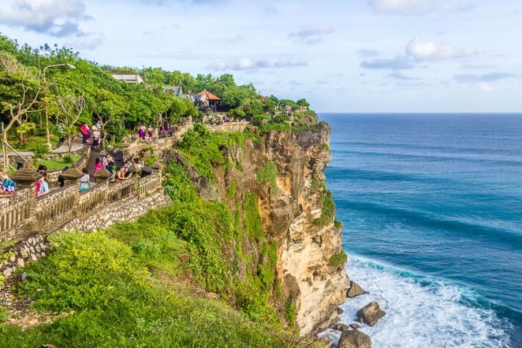 Cliff at Uluwatu Temple, Bali