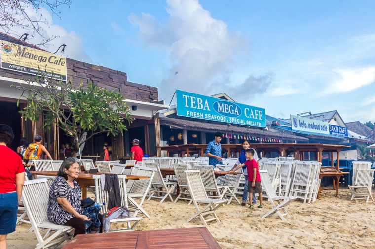 Menega Cafe, Muaya Beach, Jimbaran, Bali