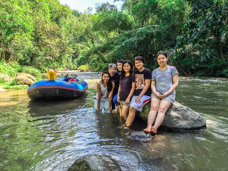 Sobek Rafting at Ayung River, Ubud, Bali