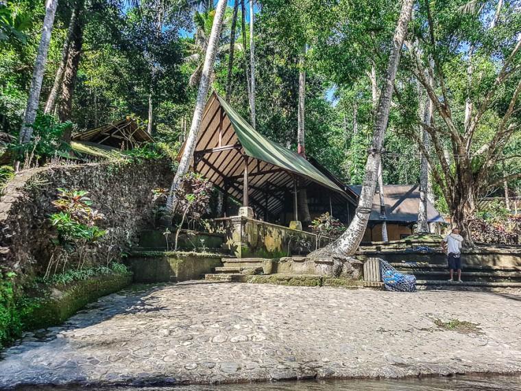 Finish point - Sobek Rafting at Ayung River, Ubud, Bali