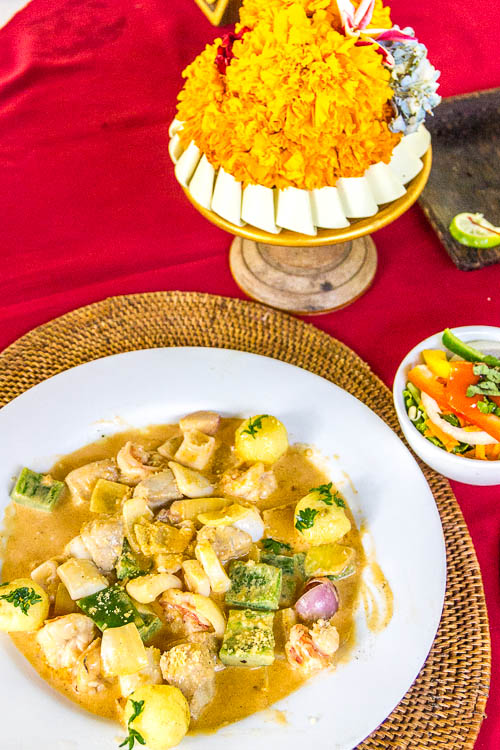 Cafe Wayan Menu - Seafood Termidor