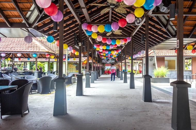 Entrance of D'Kranji Farm Resort at Kranji Countryside, Singapore
