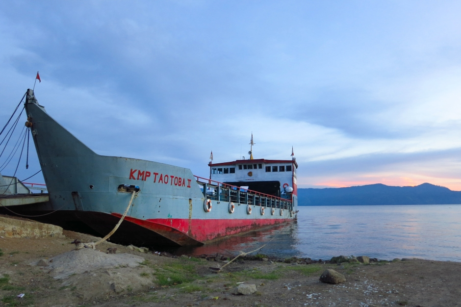 samosir car ferry
