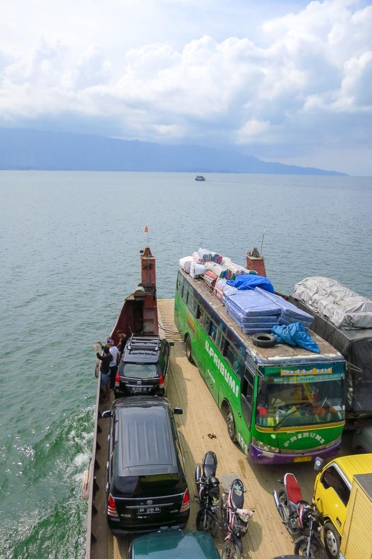 Lake Toba Samosir Tomok ferry