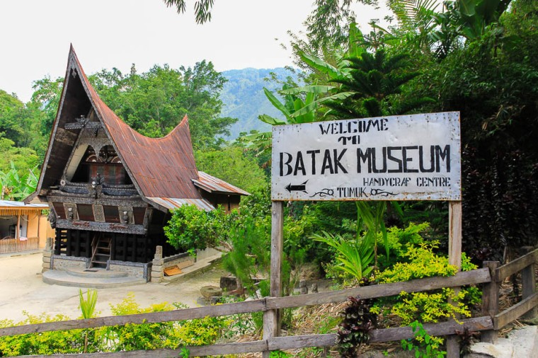 Batak Museum, Tomok, Samosir, Lake Toba, Indonesia