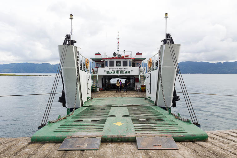 Simanindo Ferry, Lake Toba, North Sumatera