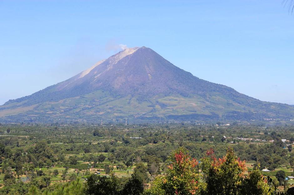 Mount Sinabung, Berastagi, North Sumatera