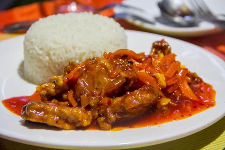 Food in Hangnaameedhoo - Green Leaf Restaurant