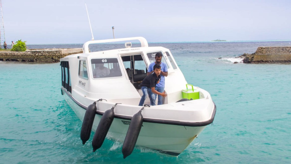 How to get from Male to Hangnaameedhoo, Maldives