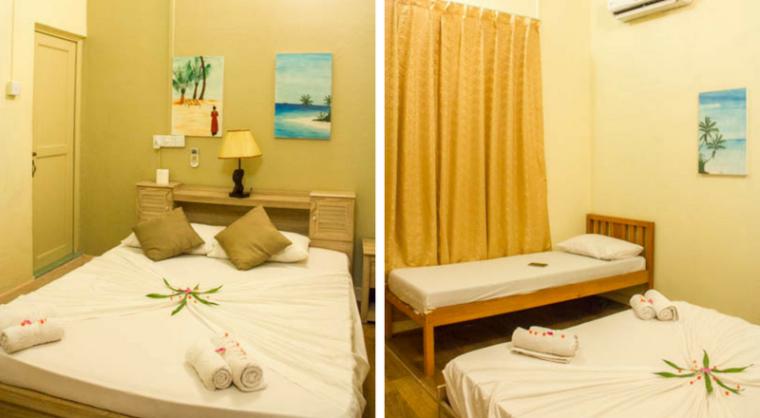 Kalaafaanu Retreat room in Hangnaameedhoo, Maldives
