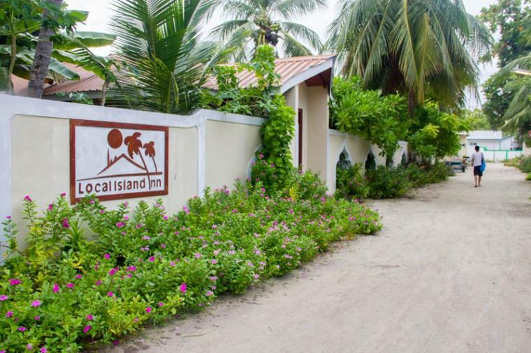 Local Island Inn in Hangnaameedhoo, Maldives